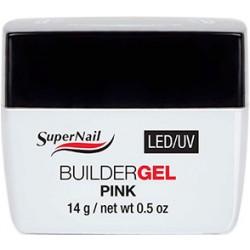 SuperNail Builder  Pink  Gel 14g LED/UV