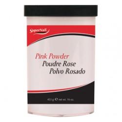 SuperNail puder akrylowy PINK Powder 453g