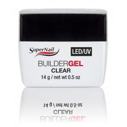 SuperNail Builder Clear Gel 14g LED/UV