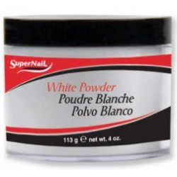 SuperNail Puder Akrylowy WHITE Powder 113g