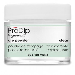 SuperNail Prodip Powder Clear 2oz 56g