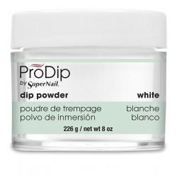 SuperNail Prodip POWDER White 8oz 226g