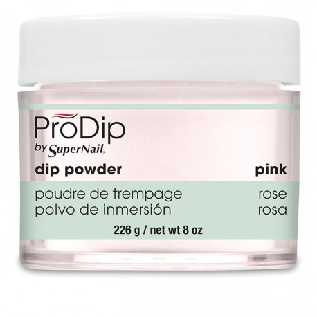 SuperNail Prodip POWDER Pink 8oz 226g