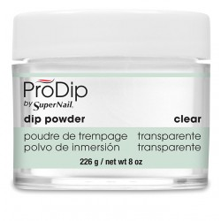 SuperNail Prodip POWDER Clear 8oz 226g