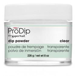 SuperNail Prodip POWDER Clear 8oz 226g